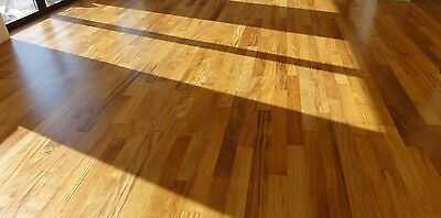 SALE! Prefinished Brazilian Ash Garapa solid floor $5.25