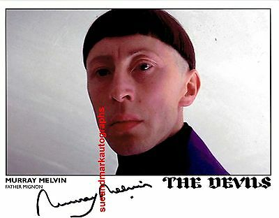 Murray Melvin Father Mignon Ken Russell's The Devils  Horror Autograph UACC RD96