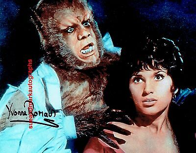 Yvonne Romain The Curse Of The Werewolf  Hammer Horror Autograph UACC RD96