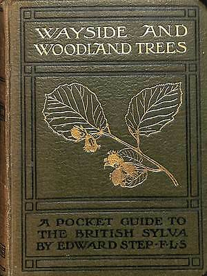 WAYSIDE AND WOODLAND TREES: A POCKET GUIDE TO THE BRITISH SYLVA, Good Condition