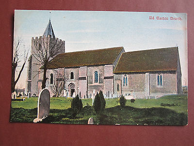 Old Clacton Church - Empire Series old post card