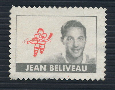 1969-70 O-Pee-Chee Stamp Jean Beliveau