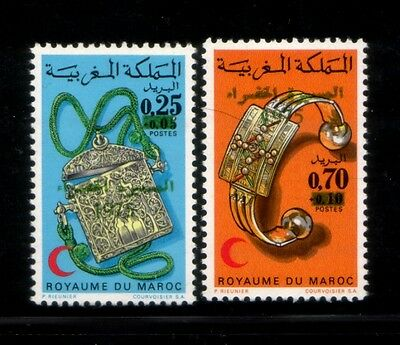 MOROCCO March into Spanish Sahara Surcharge MNH set