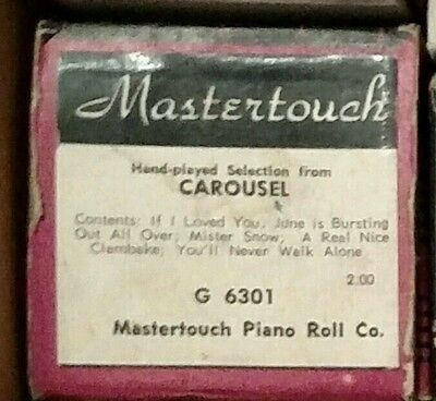 Mastertouch Music Roll-#g-6301 Carousel