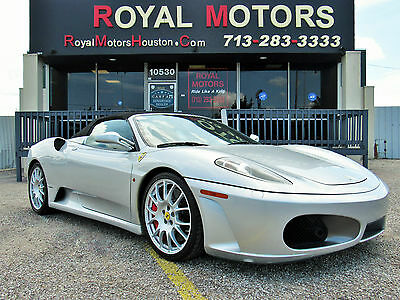 2008 Ferrari 430 Spider Convertible 2-Door 2008 Ferrari F430 Spider Convertible 2-Door 4.3L