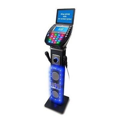 Party Disco Easy Karaoke Bluetooth Pedestal Karaoke System with Light Effects