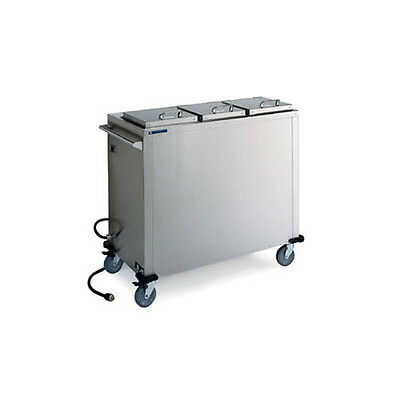 "Lakeside 7512 10-1/4"" Dia. Mobile Convection Heated Plate Dispenser"