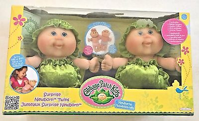 Cabbage Patch Kids Surprise Newborn Twins (Blue Eyes) NIB