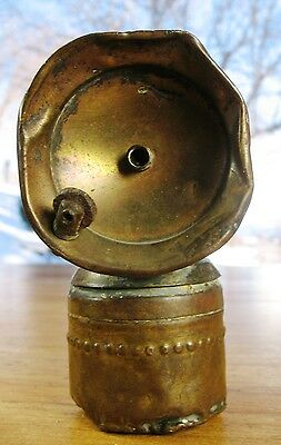 1916 Justrite Carbide Miner's Lamp From Independence Mine Near Sun Valley Idaho