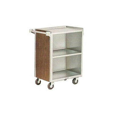 "Lakeside 810 16-7/8""x28-1/4""x34-1/2"" Enclosed Bussing Cart Cabinet"