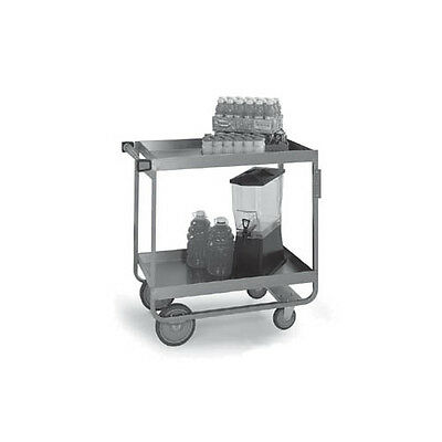 "Lakeside 727 22-1/4""x38""x37-1/4"" Stainless Steel Heavy Duty Utility Cart"