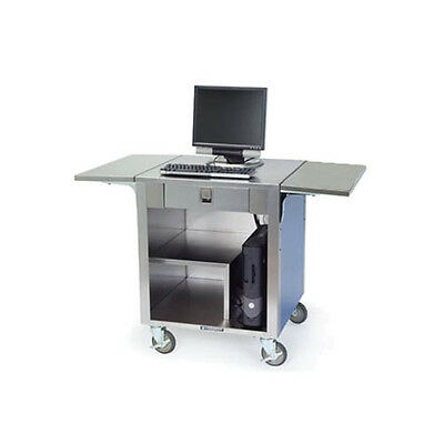 Lakeside 641 Stainless Steel Mobile Cashier Stand