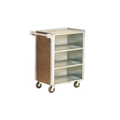 "Lakeside 815 16-7/8""x28-1/4""x34-1/2"" Enclosed Bussing Cart Cabinet"