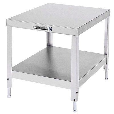 "Lakeside 537 24""x32""x21-3/16"" Stainless Steel Stationary Machine Stand"