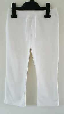 *BNWOT* Young Dimension Girls Cream Joggers Tracksuit Bottoms Size 4-5 Years