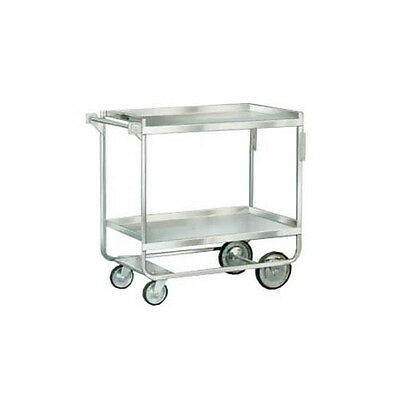 """Lakeside 743 32""""x21"""" Fully Welded Stainless Steel Utility Cart"""