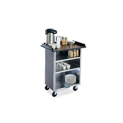 "Lakeside 678 24""x40-3/4""x38-5/16"" Laminated Beverage Service Cart"