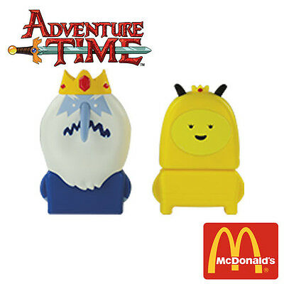 Adventure Time McDonald's Happy Meal Toys Ice King Bee Princess