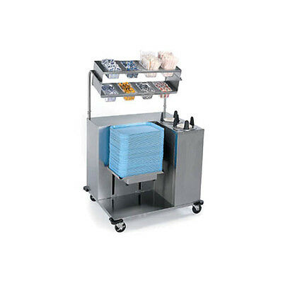 Lakeside 2620 Mobile Stainless Steel Tray Starter Station