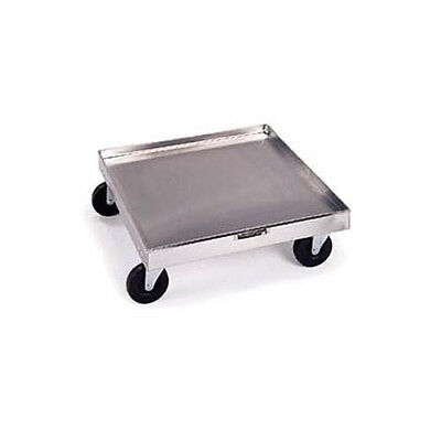 "Lakeside 20""x20"" Stainless Steel Platform Rack Dolly - 447"