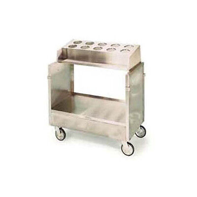 Lakeside Stainless Steel Enclosed Style Tray & Silver Cart - 403