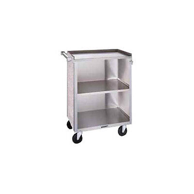 """Lakeside 622 19""""x30-3/4""""x33-7/8"""" Stainless Steel Bussing Cart"""
