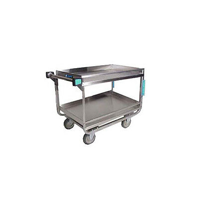 "Lakeside 729 22-3/8""x38-5/8""x37-1/2"" Stainless Steel Utility Cart"
