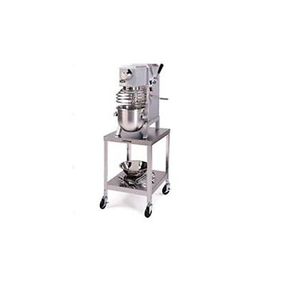 """Lakeside 24""""x32""""x29-3/16"""" Stainless Steel Mobile Machine Stand - 518"""