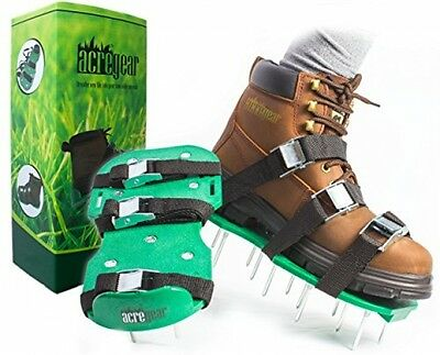 Lawn Aerator Shoes For Greener Grass | No Assembly Required | Premium Aeration