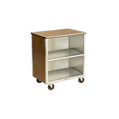 "Lakeside 626 18-3/4""x28-1/4""x32-5/8"" Stainless Steel Bussing Cart"