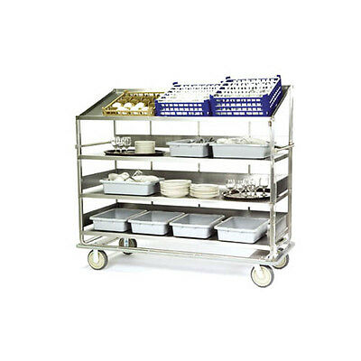 "Lakeside B597 75-1/2""Wx30-7/8""Dx69-1/4""H Soiled Dish Breakdown Cart"