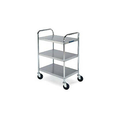 """Lakeside 479 27""""Wx17-1/2""""Dx35""""H Chrome Plated Utility Cart"""