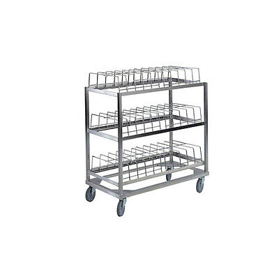Lakeside 897 3 Shelf Stainless Steel Dome Drying Rack