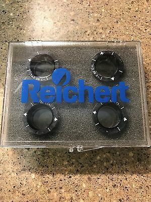 AO / Reichert Phoroptor Auxiliary Lens Set with Case minus cylinder