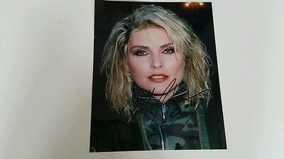 Hand signed autograph by Debbie Harry  BLONDE  PHOTO