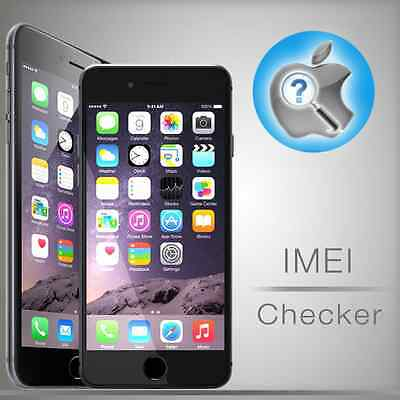 INSTANT iPhone IMEI checker Network Carrier Check Sim lock status All Models