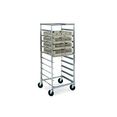 Lakeside 198 Stainless Steel Glass & Cup Rack Transport Cart