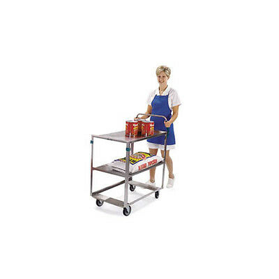 "Lakeside 6820 22""x39-1/8""x44-3/8"" Stainless Steel Ergo-One® Utility Cart"