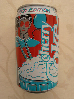 Coca Cola cherry Dose  Großbritannien (1991) 0,33l Can UK Great Britain
