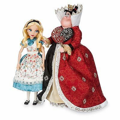 Alice and Red Queen Disney Store Designer Collection Fairytale