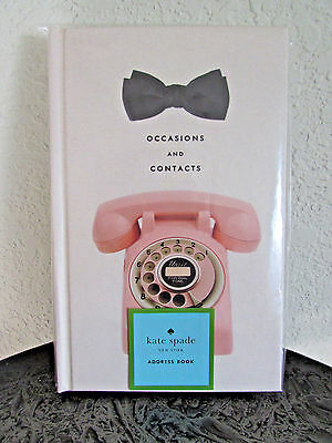 Kate Spade New York Occasions and Contacts~Address Book