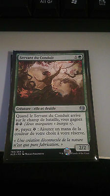 4x Servant of the Conduit (in FRENCH) - Playset - Kaladesh - Mint