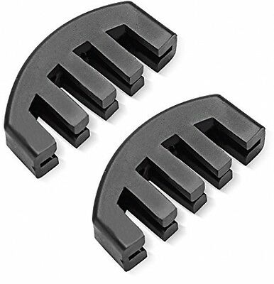 Neewer® Violin Practice Mute With 5 Prongs For 4/4 Violin, 2 Pack, Easy-to-Use