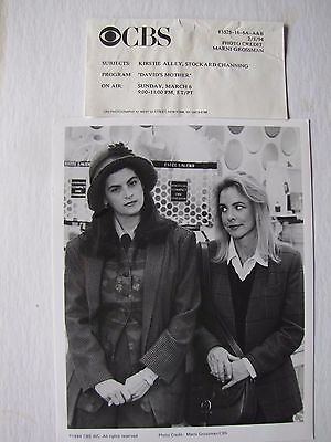 1994 CBS Kirstie Alley Stockard Channing in David's Mother TV Movie Photograph