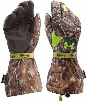 Under Armour Scent Control Insulator Waterproof Camo Hunting Gloves  Nwt $150