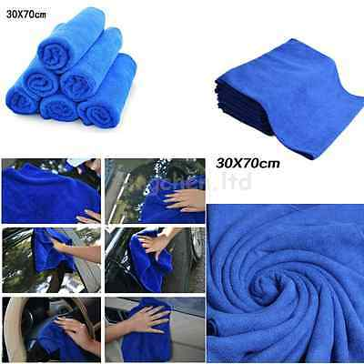 20pcs Car Auto Care Washing Towels  Absorbent Cleaning 30*70cm Microfiber Cloth