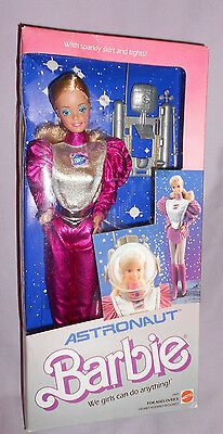 1985 Astronaut Barbie - New In Factory Sealed  Box