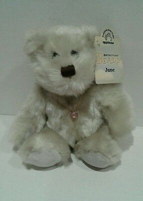 "Applause Birthstone  Bears ""june """