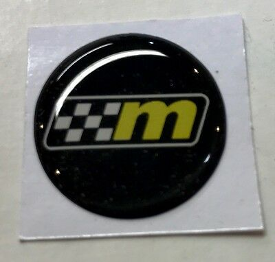 Mountune Starter Button Decal/Badge 20mm Ford Fiesta Focus ST RS