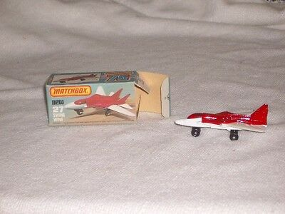 Matchbox swing wing aircraft model